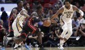 Miami sigue invicto en casa tras vencer 109-94 a Pelicans