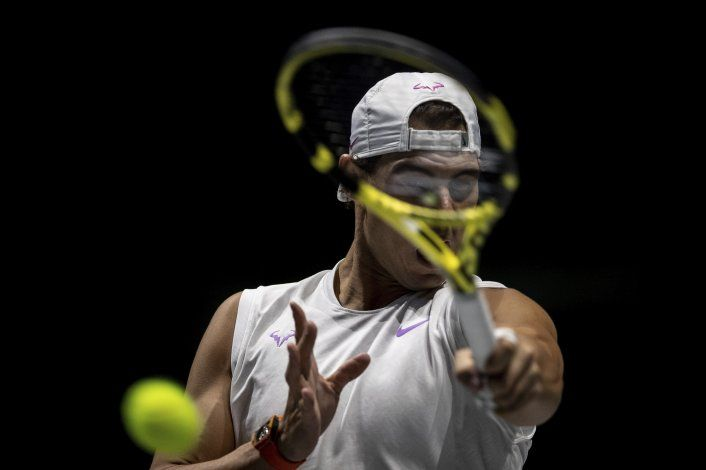 Nadal listo para liderar a España en la Copa Davis