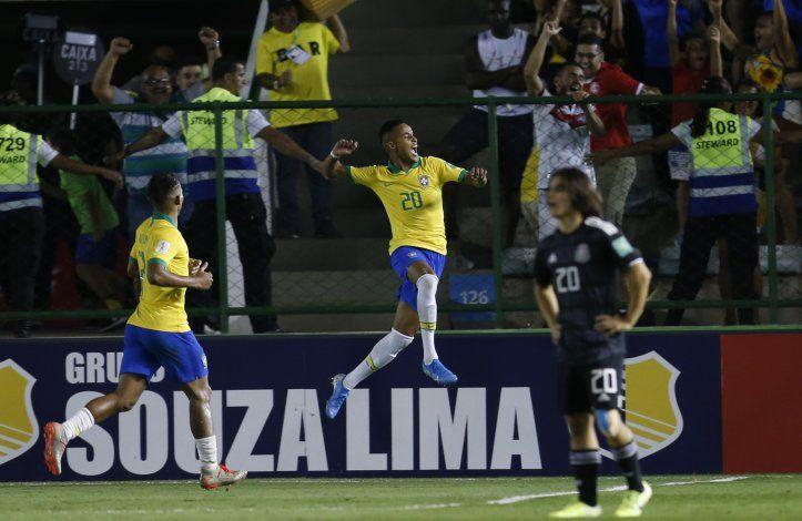Brasil remonta ante México y es campeón sub17