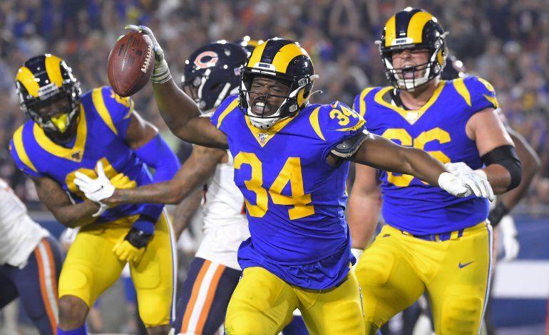 Con ataque terrestre, Rams vencen a Bears