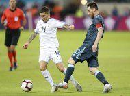 argentina y uruguay empatan 2-2 en amistoso en tel aviv