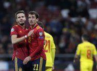 espana e italia cierran eliminatoria propinando goleadas