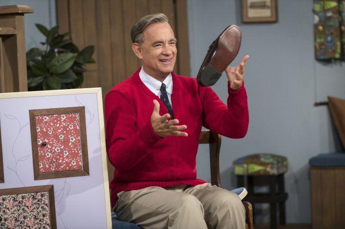Hanks no quiso ser Mr. Rogers, hasta que conoció a Heller