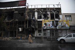 ai: protestas en iran han dejado 106 muertos