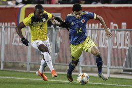 con gol de uribe, colombia supera a ecuador en nueva jersey