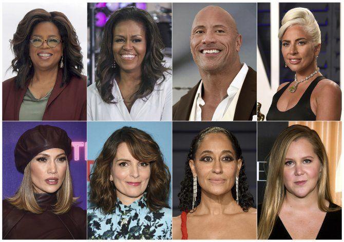Michelle Obama, Gaga y J. Lo a gira de Oprah sobre bienestar