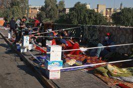 irak: mueren 3 manifestantes en choques con las autoridades
