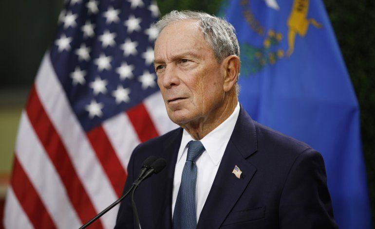 Bloomberg presenta documentos de campaña; no decisión aún