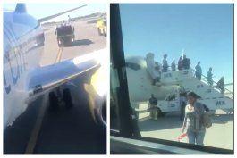 aterriza de emergencia en el aeropuerto internacional de miami un vuelo charter procedente de la habana tras explotar una llanta del avion