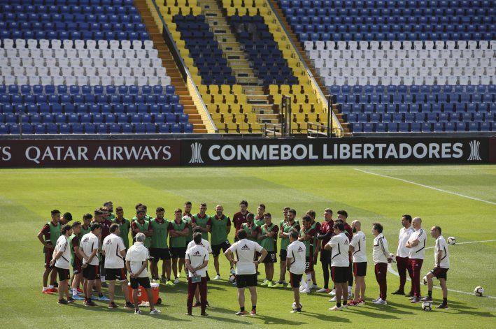 Libertadores: Flamengo y River entrenan en secreto