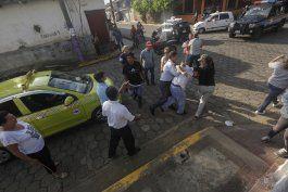 simpatizantes sandinistas atacan a feligreses en nicaragua