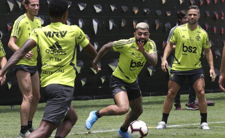 Gabigol busca redención en Libertadores con Flamengo
