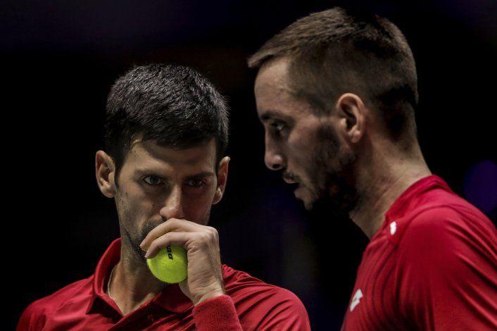 Nadal pletórico: mete a España en semis de la Copa Davis