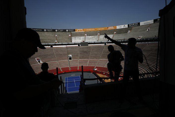 Una Plaza de Toros recibe a Federer en México
