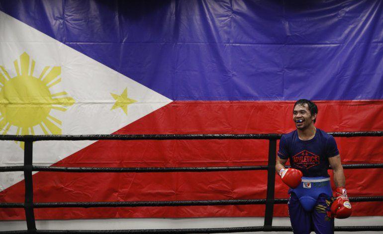 EEUU: Rechazan reactivar demanda por pelea de Pacquiao