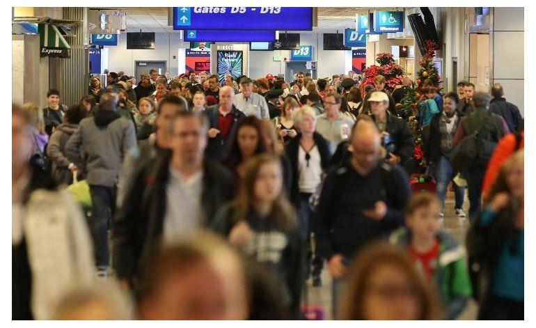 Más de 50 millones de personas viajarán en los EEUU por el día de acción de gracias