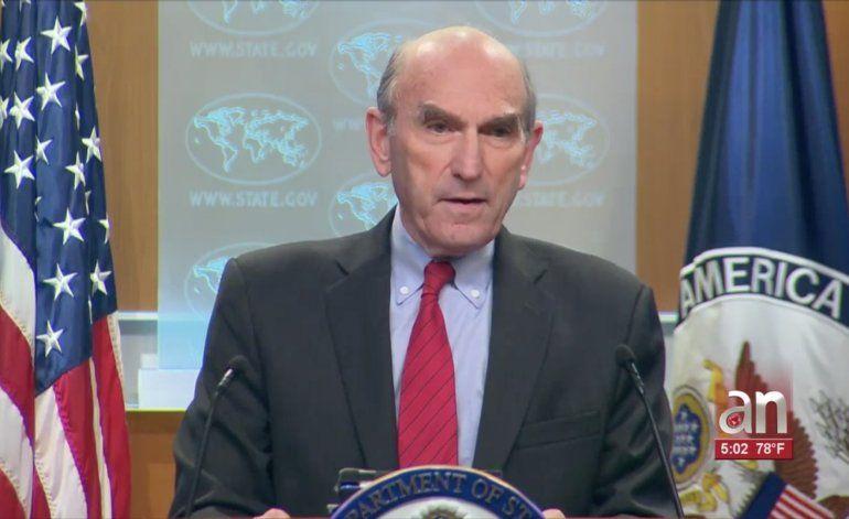 Abrams asegura que Cuba y Venezuela promueven la violencia en las protestas en el continente