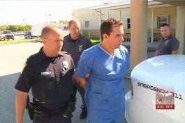 arrestan al hombre que ocasiono un accidente donde murio una mujer y despues se dio a la fuga  en hialeah