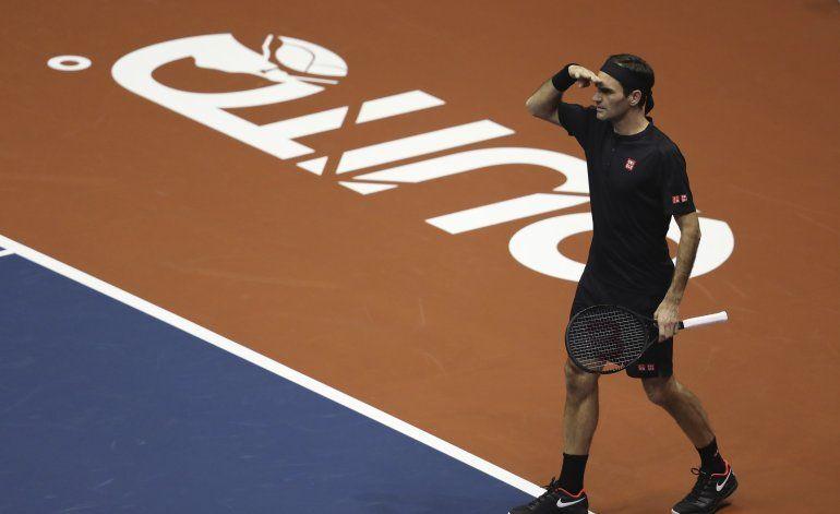 Suiza acuña moneda con imagen de Roger Federer