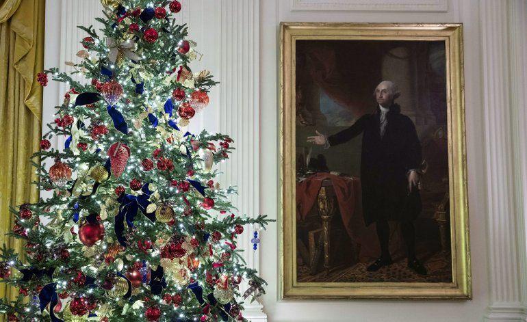 Patriotismo es el tema navideño 2019 en la Casa Blanca