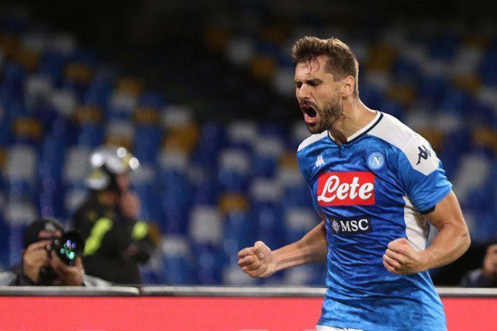 Sindicato impugna multa de Napoli a sus jugadores