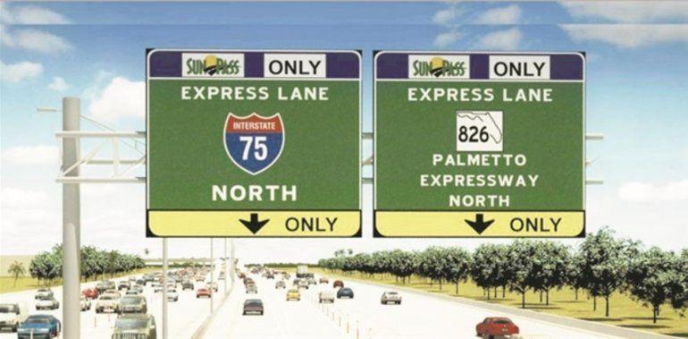 Presentan proyecto de ley para eliminar peajes y lineas Express en el Palmetto