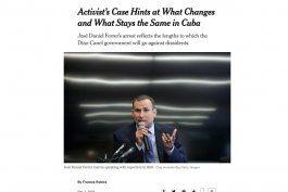 la campana internacional de solidaridad con jose daniel ferrer llega a importantes diarios norteamericanos