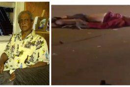 fuertes imagenes: hombre atropella a un anciano de origen cubano en silla de rueda y si da a la fuga