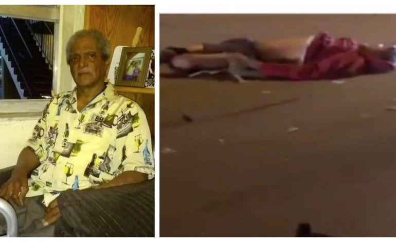 Fuertes Imágenes: hombre atropella a un anciano de origen cubano en silla de rueda y si da a la fuga