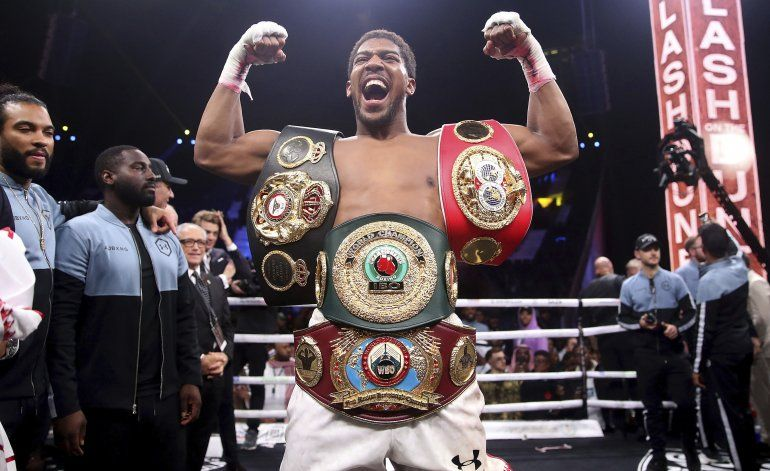 Joshua retoma su reinado en los pesados con nuevo enfoque