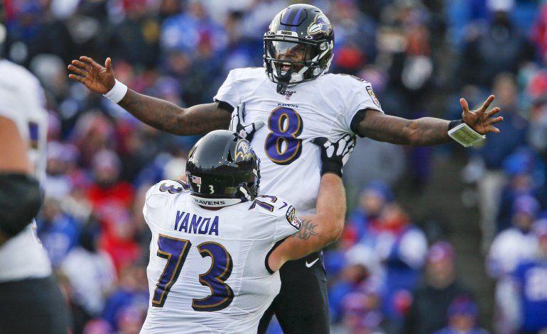 Ravens asegura lugar en playoffs con triunfo sobre Bills