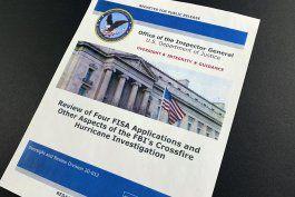 organo interno: fbi tenia motivo para investigar trump-rusia