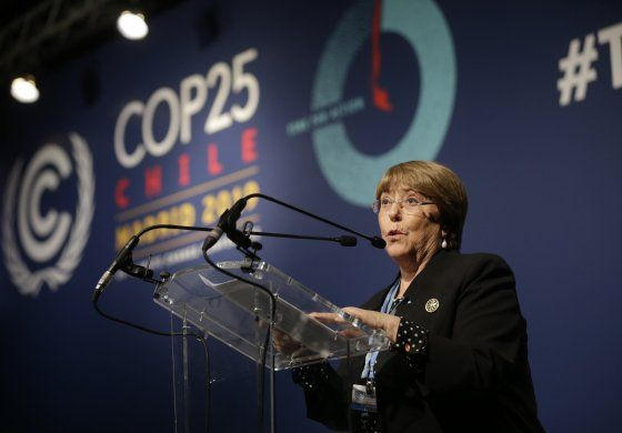 Bloomberg llega a la cumbre climática para la fase clave