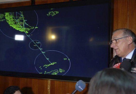 Intensifican búsqueda de avión chileno accidentado