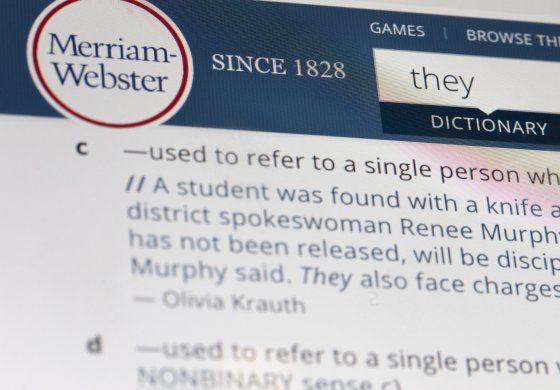 """Merriam-Webster elige """"ellos"""" como la palabra del año"""