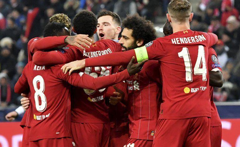 Liverpool somete a Salzburgo y avanza en la 'Champions'