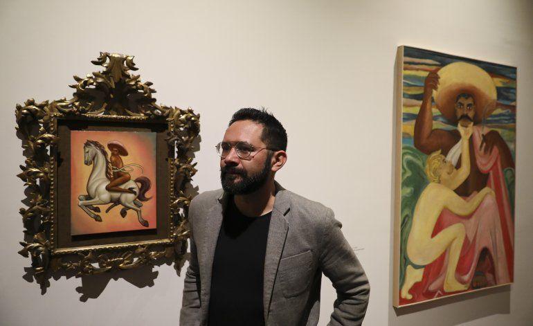 Familia de Emiliano Zapata visita polémica pintura