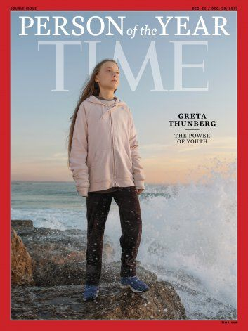 Greta Thunberg es la Persona del Año de la revista Time