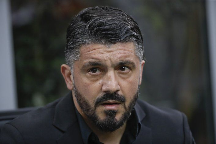 Gattuso, nuevo DT del Napoli tras despido de Ancelotti