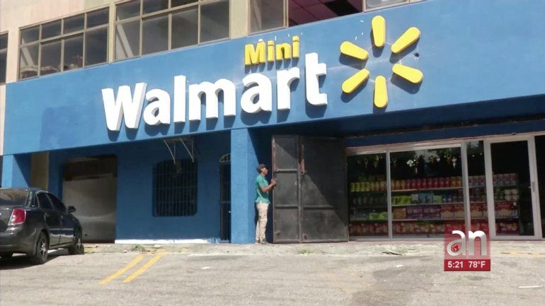 Un tienda con el nombre y el logo de la cadena estadounidense Walmart abrió sus puertas hace días en el estado Carabobo, en Venezuela