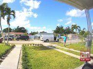 captados en camara quedaron dos robos ocurridos en menos de 24 horas en viviendas de miami