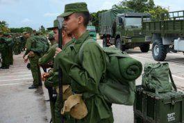 tribunales militares de cuba sancionaran a reclutas del servicio militar que se autolesionen