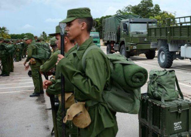 Tribunales militares de Cuba sancionarán a reclutas del Servicio Militar que se autolesionen