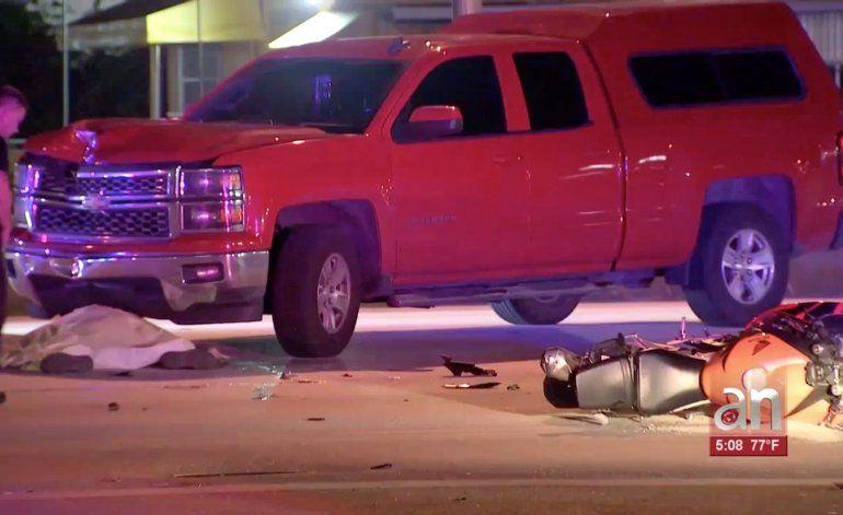 Muere motociclista en Hialeah tras aparatoso accidente