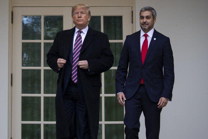 Trump y Abdo Benítez hablan sobre corrupción y Venezuela