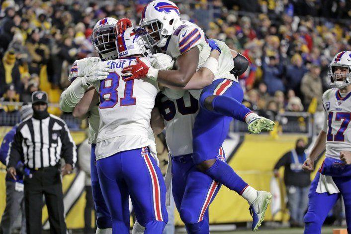Bills vencen a Steelers y se instalan en los playoffs