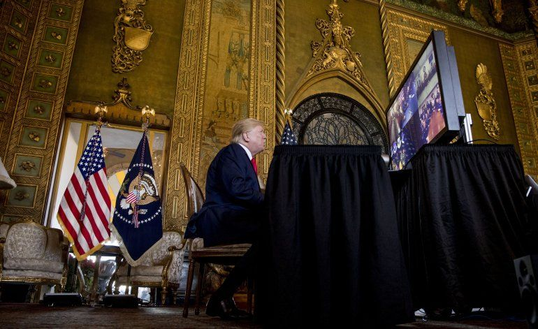 Trump felicita a miembros del ejército en todo el mundo