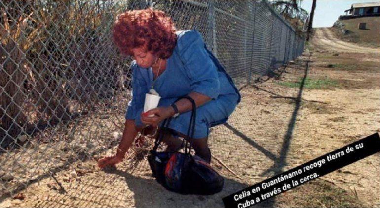 Albita Rodríguez responde a Pitbull con foto de Celia Cruz