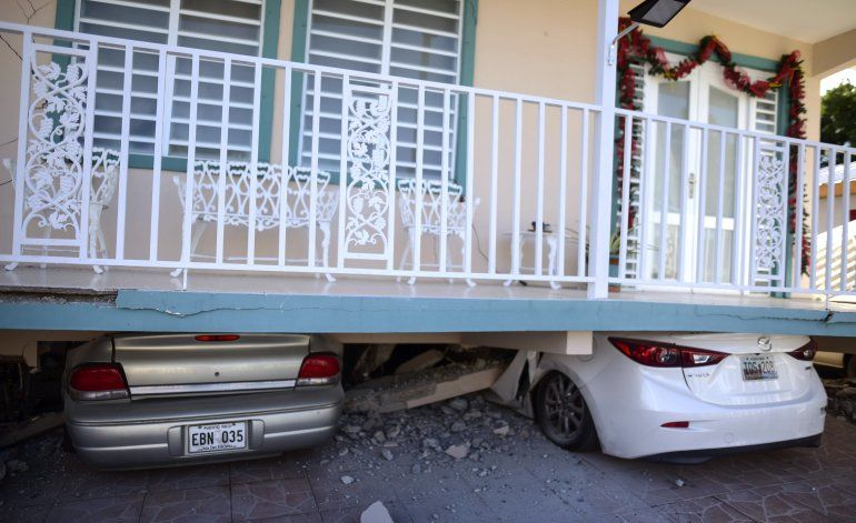 Sismo de 5,8 en Puerto Rico causa apagones y daños a casas