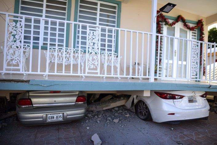 Un muerto y ocho heridos por sismo en Puerto Rico